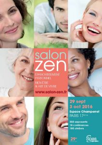 Manupuncture au salon Zen de Paris du 29 Sept au 3 Oct 2016
