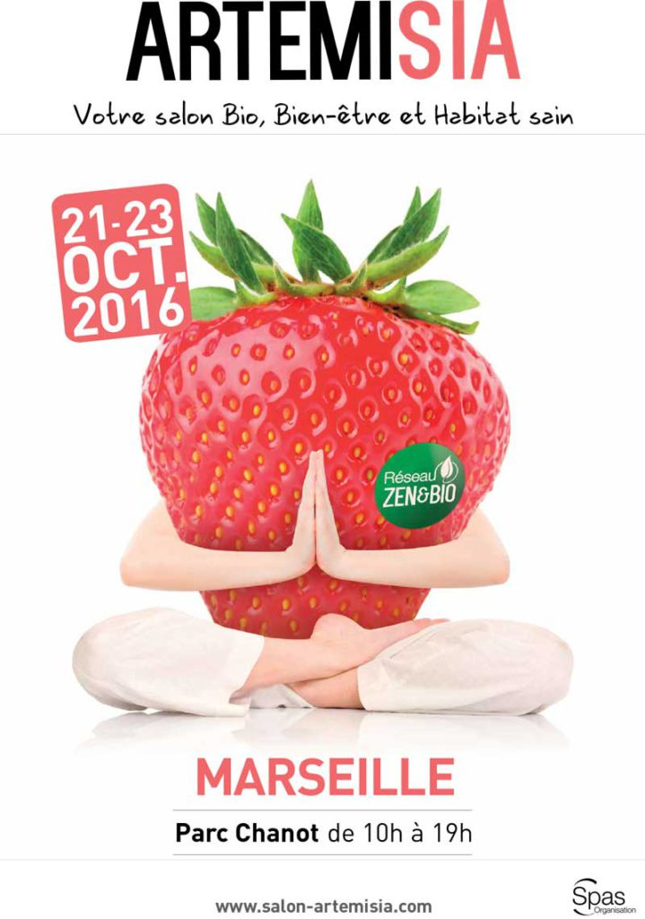Affiche salon Artemisia 2016 Marseille