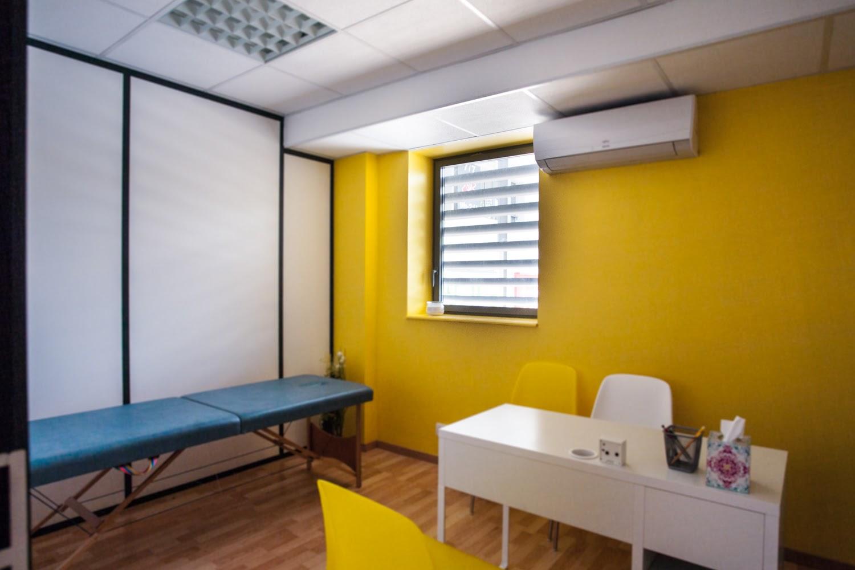 Des cabinets de soin lumineux et reposants