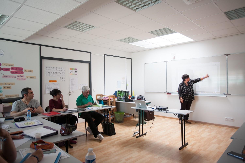 Des salles de classe agréables et équipés