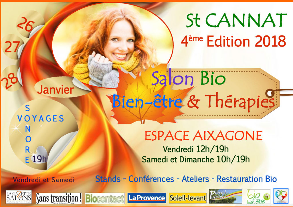 SALON BIO – BIEN ETRE & THERAPIES 2018 à Saint-cannat